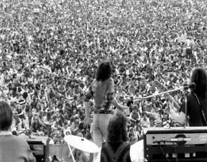 Lot of 5 Photos Live at Woodstock 1969 Sly Cocker Santana Winter Hendrix
