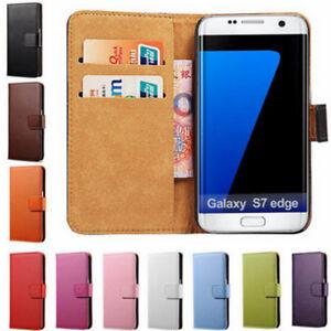 Per-Samsung-GALAXY-S7-EDGE-Custodia-Cover-a-Libro-Portafoglio-Chiusura-Magnetica