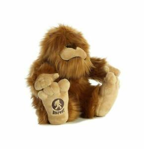 Bigfoot Sasquatch Stuffed Plush Animal 12 Inch Aurora Toy Big Foot