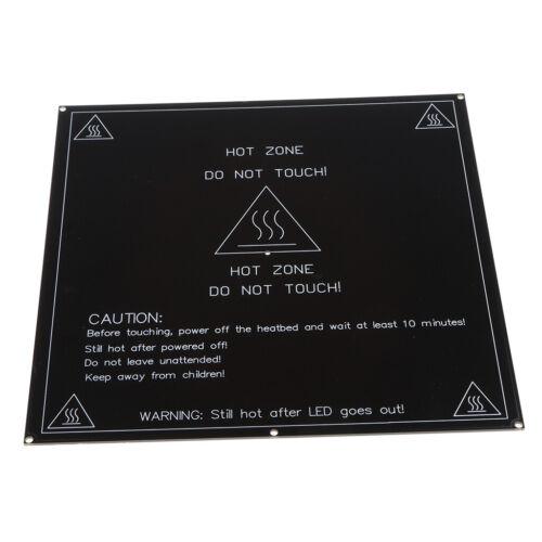 MK2B Heatbed PCB Hot Plate 214mm Square Dual Power 12//24V for 3D Printer