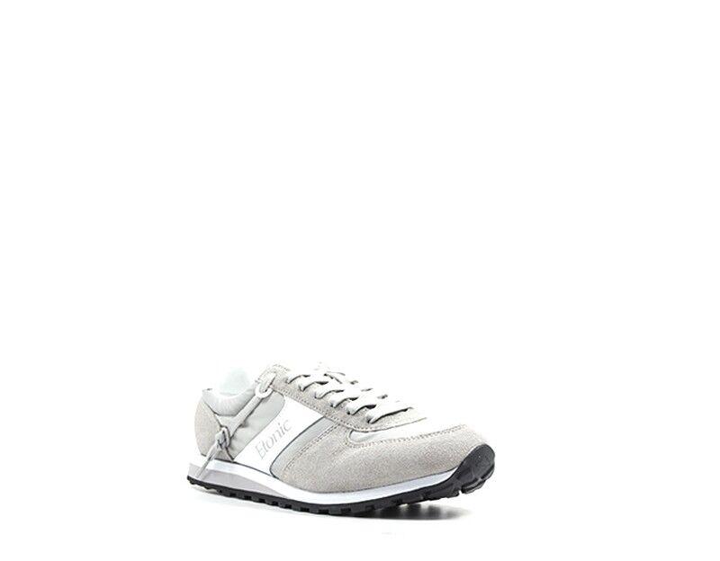 Schuhe ETONIC Mann GRIGIO  Stoff,Wildleder  GRIGIO ET813252-03 6a7d81