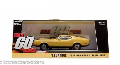 Greenlight 1:43 1971 Ford Mustang Mach 1 Eleanor gelb//schwarz