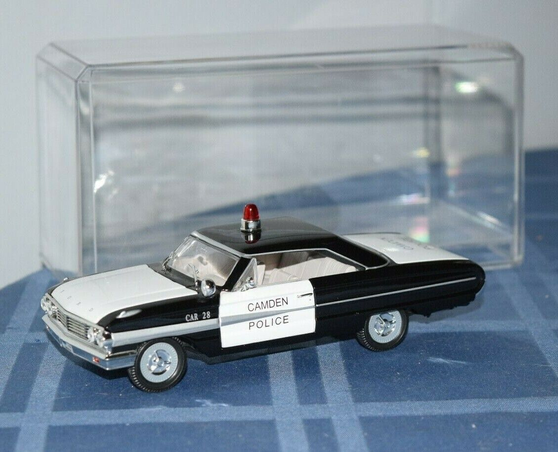 Rare 1 32 Diecast 1964 Ford Galaxie Camden Police Arko Products Toy Model Car