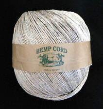 45# test Hemp cord/twine - 680 ft. ball (250 gm), 3mm diam.