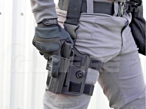 Drop-Leg-Rig-Modular-with-RH-and-or-LH-OWB-holster-for-many-different-pistols