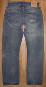 """"""" Levi `S 506 Standard """" D'Homme Jeans / Levis Bleu Jeans en Bleu W34 """" / L34 """""""