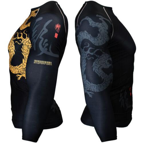 BTOPERFORM FX-164 Skin Tight Compression Rash guard Under Base layer Gym MMA