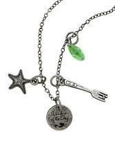 Disney Ariel The Little Mermaid Multi Charm Pendant Necklace Wonders Of The Deep