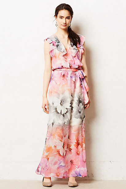 NIP Anthropologie Easel Flora Maxi Dress by HD in Paris Size 8P, 10P
