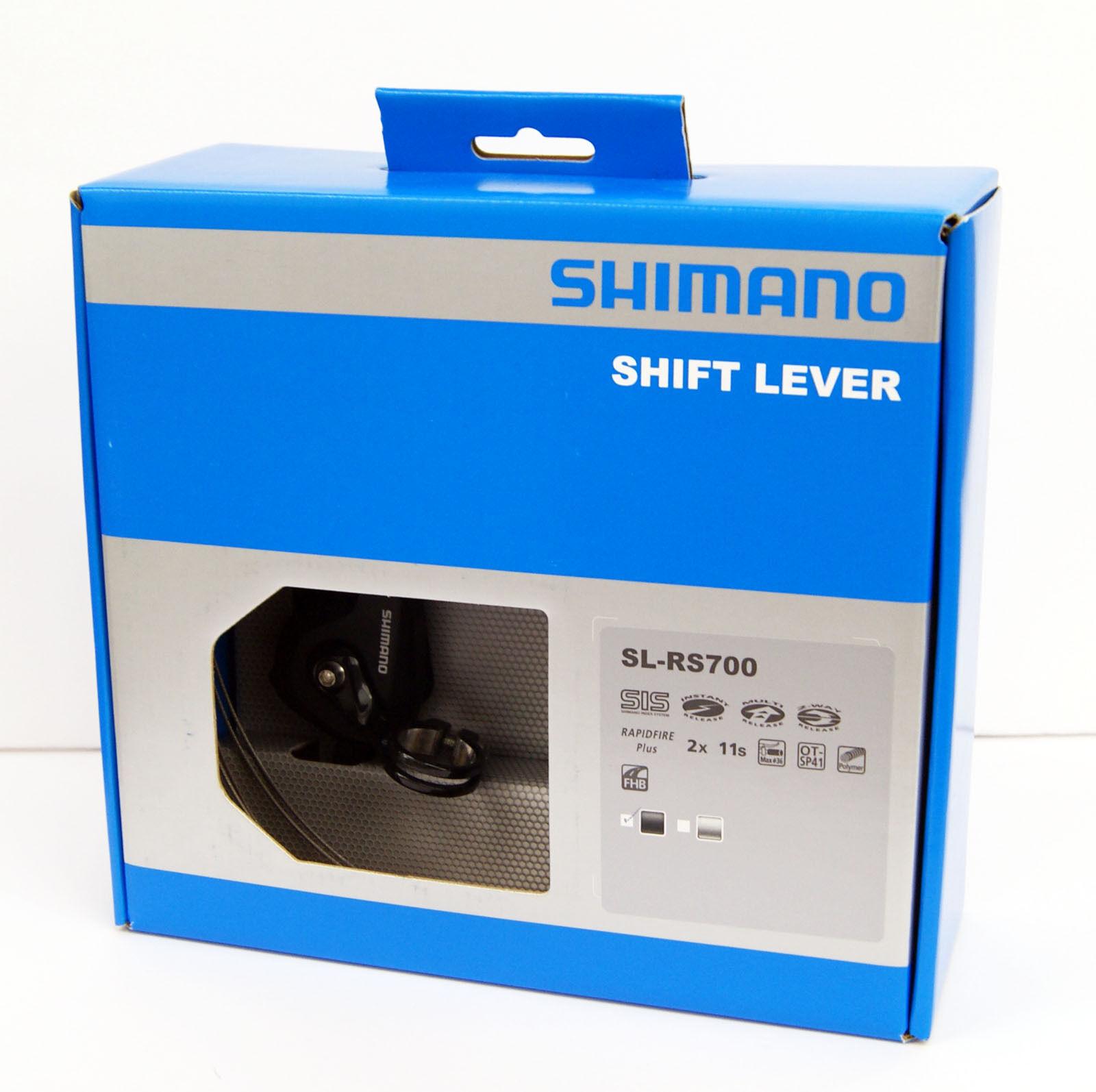 Shimano SL-RS700 Negro Palanca de Cambio Izquierda y Derecha (Par) ISLRS700PAL