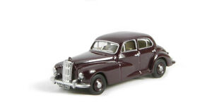 NEW-Oxford-Diecast-76MS001-Maroon-Morris-Six-1-76-Scale