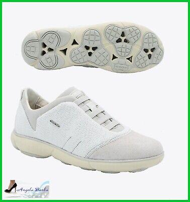 GEOX SCARPE DA Donna Nebula Sneakers in Camoscio Sportive