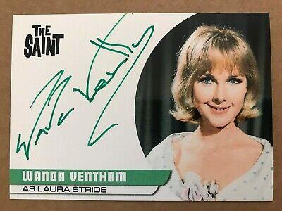 Unstoppable UFO Series 2 WANDA VENTHAM as Col Virgina Lake Autograph Card WV2