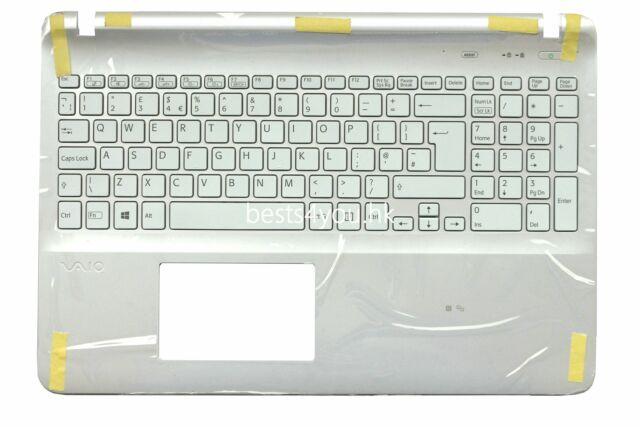 black Sony Vaio SVF1521E6E SVF15214CXW SVF152C29L US keyboard Palmrest Cover