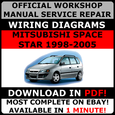 servicio de reparaci n manual de taller oficial mitsubishi space rh ebay es