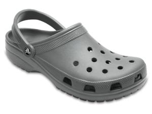 cd5b1e0fa89ef Caricamento dell immagine in corso Sandalo-Crocs-Classic-uomo-donna-grigio -scuro-in-