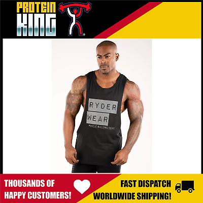 RYDERWEAR TRACK SHORTS BLACK SMALL TRAINING FITNESS MENS CLOTHING RYDER WEAR