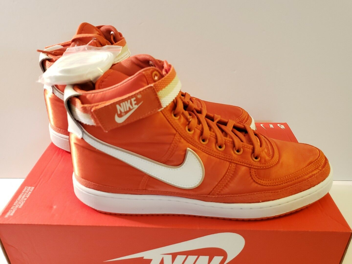 Nike Vandal High Supreme Sz 10.5, 11 & 11.5 Vintage Coral Men's Retro 318330-800