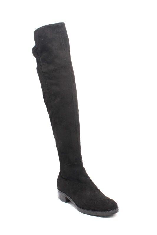 mujer Piu 9165b Negro Gamuza estiramiento sobre sobre sobre la rodilla botas 38 US 8  cómodamente