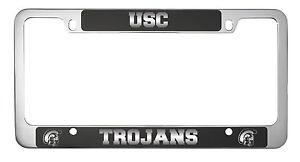 university of southern californiametal license plate