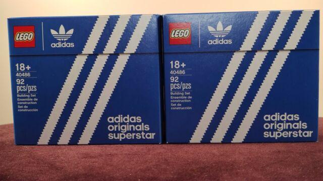 LEGO 40486 Mini Adidas Orginals Superstar limited edition Bnisb