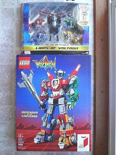 Lego Idea 21311 Voltron & Playmates Diecast Metal Defender Defender Defender (New) Free Shipping 0e58f4