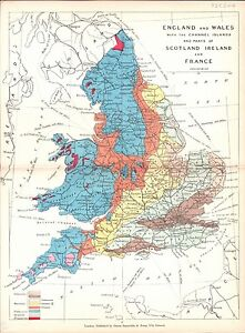 Antique-map-England-and-Wales