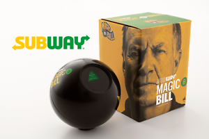 "Limited-Edition Subway ""Magic 8 Bill"""
