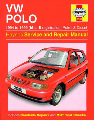 1 of 1 - VW Polo 1994-99 Petrol Diesel Haynes 3500 Service Repair Manual New Sealed