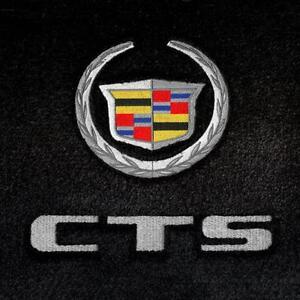 Lloyd-Mats-VELOURTEX-4PC-FLOOR-MAT-SET-CTS-V-Coupe-Crest-CTS-on-Front-Mats