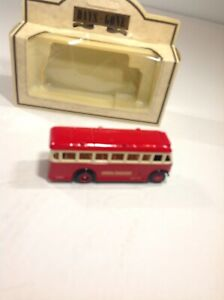 LLEDO-Days-Gone-Half-Cab-Singledeck-Bus-Red-17004-London