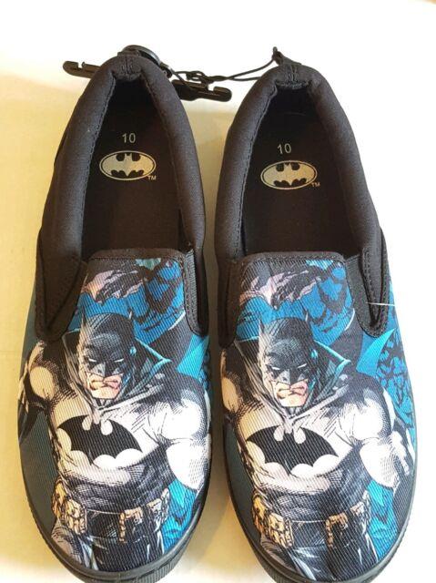 Batman Slip on Mens Tennis Shoes Size