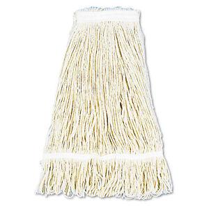 034-Pro-Loop-Web-tailband-Wet-Mop-Head-Cotton-24oz-White-034