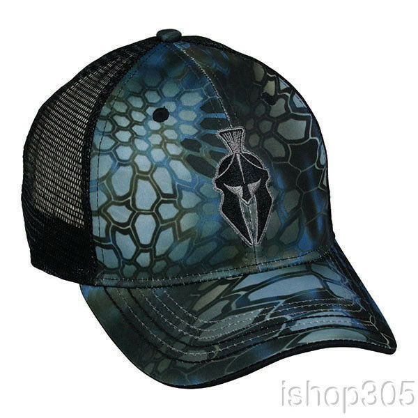 Buy Outdoor Cap Kryptek Mesh Cap Snap Back Neptune Blue Black 6 Panel Hat  online  1f46079fd92