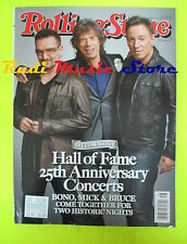 ROLLING STONE USA MAGAZINE 1092/2009 Bono M.Jagger Springsteen Adam Lambert Nocd