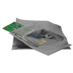 "Anti Static ESD Static Shielding Bags (10"" x 12"" 255 x 305mm) Zip Top-100 Bags"
