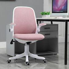 Ergonomic Line Design PC Office Chair with Adjustable Armrests & Height, Pink