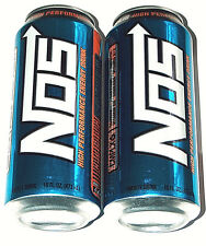 NEW 2 Lot 16oz NOS Energy High Performance Enhanced Blue Drink Full Cans CMPLX6