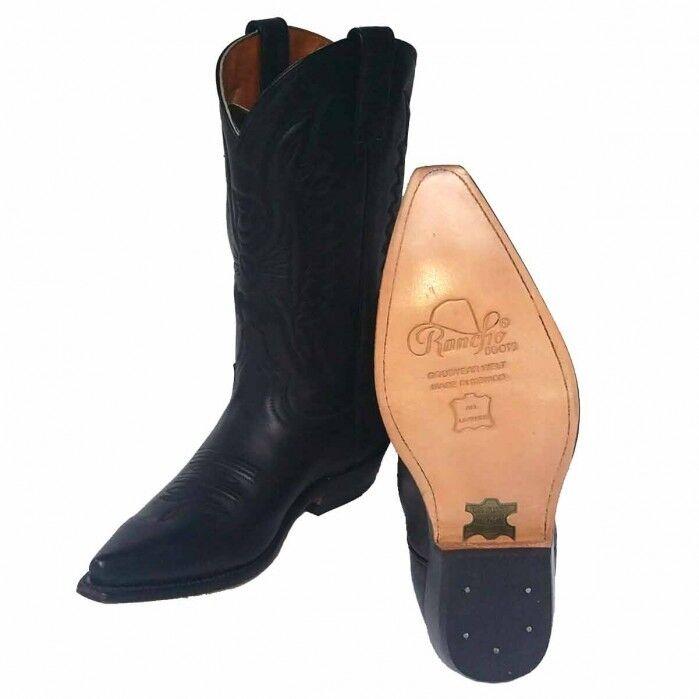 Original Rancho 5014 Western Cowboy Cowboy Cowboy Stiefel Echtleder rahmengenäht  handmade neu f37f50