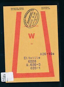 100% De Qualité 35280) Bahnpost Ovalstempel Hagen-francfort Train 14123q, Ps 1986-afficher Le Titre D'origine Gagner Une Grande Admiration Et On Fait Largement Confiance à La Maison Et à L'éTranger.