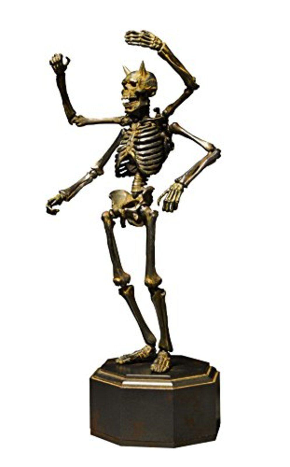 Kaiyodo takeya shiki jizai okimono kt-005 skelett eisen rost über.action - figur