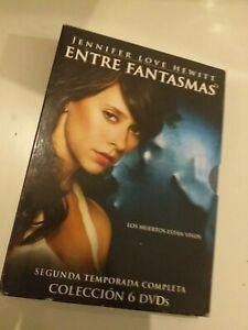DVD-lote-ENTRE-FANTASMAS-segunda-temporada-6-dvd