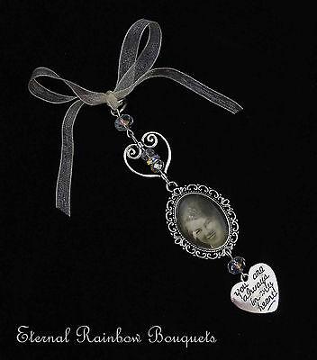 Bouquet Memory Charm-photo Occhiello Memorial Pin-ciondolo Da Sposa-regalo-mostra Il Titolo Originale Moda Attraente