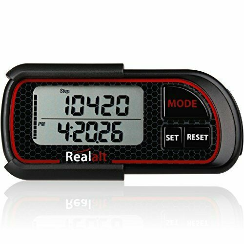 Realalt 3dtrisport Walking 3d Pedometer With Clip and Strap eBook | 30 Day  for sale online | eBay