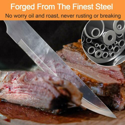 Stainless Steel BBQ Grill Tools Set Grilling Tool Camping Barbecue Utensil Kit