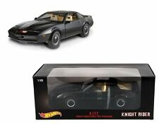 MATTEL HOT WHEELS 1:18 DIECAST K.I.T.T. KNIGHT RIDER KITT MODEL CAR HERITAGE