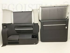 VW-T5-GP-Caravelle-Multivan-Door-Card-rear-left-trim-Highline-Anthracite