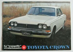 TOYOTA-CROWN-1970s-dealer-brochure-catalog-French-Canada