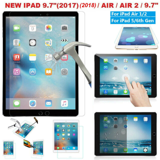 SALE New Real Tempered Glass Screen Protector For Apple Ipad Air 1// Ipad Air 2