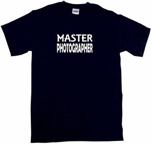 Master Photographer Mens Tee Shirt Pick Size Color Small-6XL
